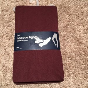 Gap opaque tights
